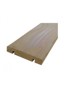 Terrasse bois clipsable sans vis en kebony