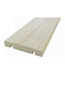 Terrasse bois clipsable sans vis en accoya naturel