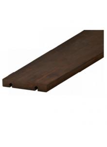 Terrasse bois clipsable sans vis en bambou