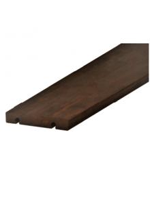 Terrasse bois clipsable sans vis en IPE sec séchoir