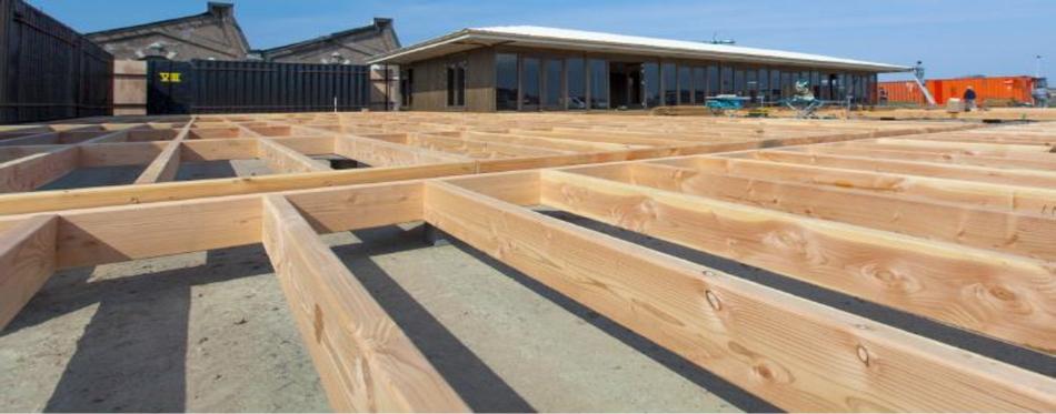Conseil de pose d'une terrasse en bois aspects techniques
