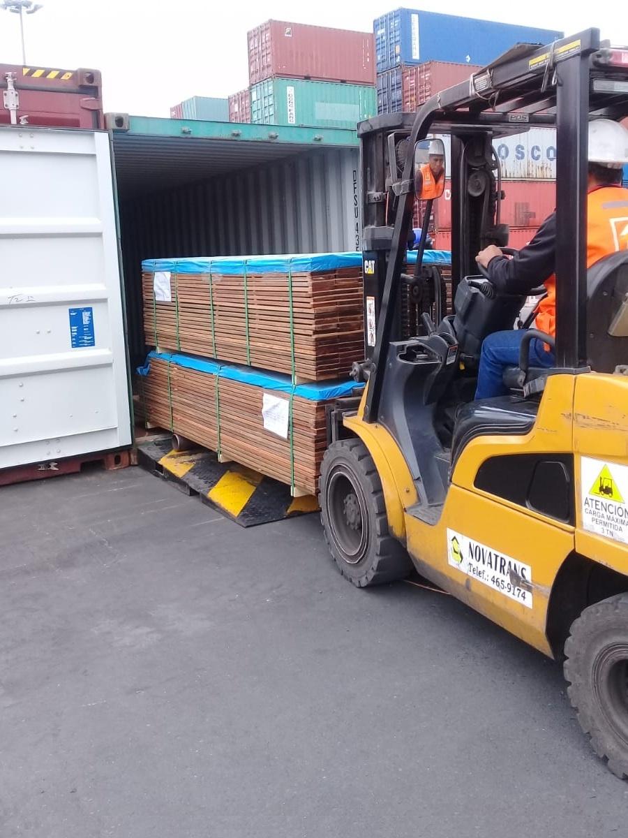 Les container de Cumaru  de Eurodek rangement