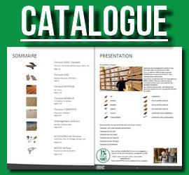 Téléchargez notre catalogue des produits et services (pose, conseils, entretien) de lames de terrasse